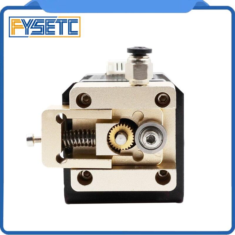 1 Set Bulldog Metal Bowden Extruder Remote Bracket Gold Color 1.75 mm For NEMA 17 Stepper Motor Prusa i3 3D Printer