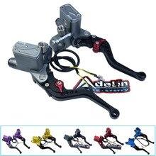 Universal motorbike cnc Adelin PX6 motorcycle brake clutch pump master cylinder lever handle For Yamaha Kawasaki Suzuki
