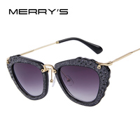 Fashion Women Brand Design Cat Eye Sunglasses Candy Color Frame Gradient Lens Alloy Legs Oculos de sol UV400 Women's Glasses