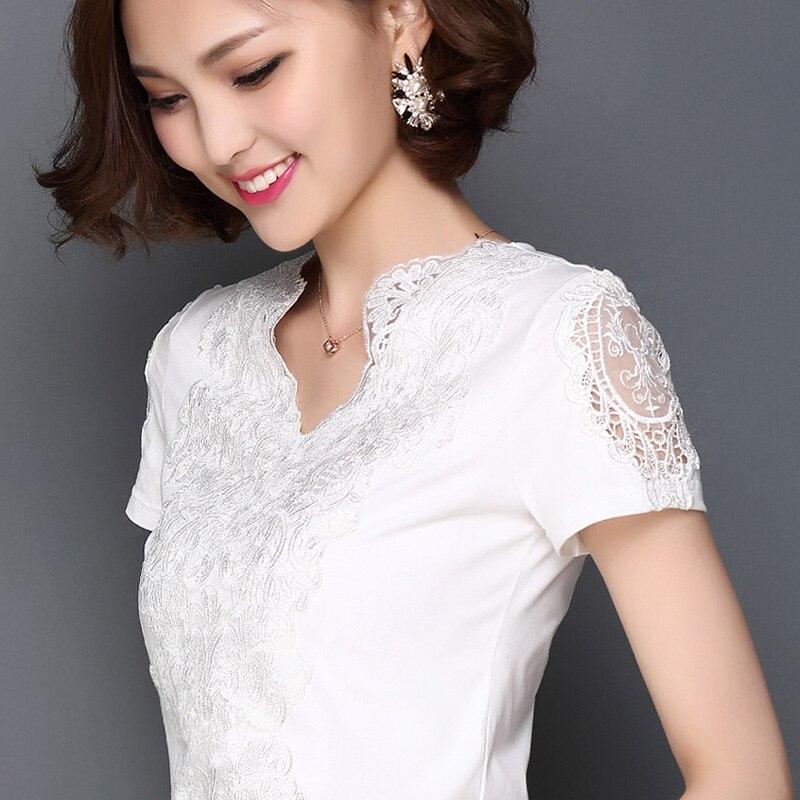 HTB1jI.NPFXXXXacXpXXq6xXFXXX1 - New Lace Shirt Women Clothing Blusas Femininas Blouses