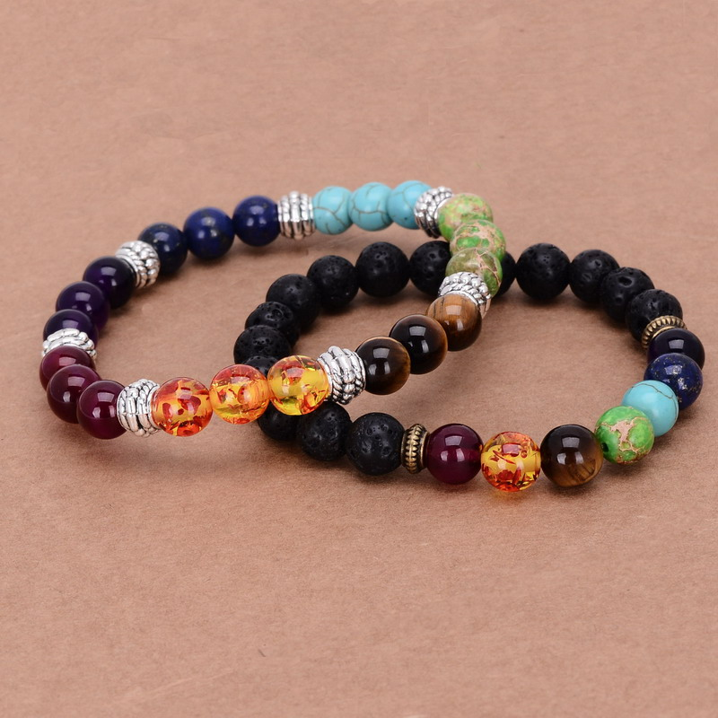 7 Chakra Gemstone Bracelet 4