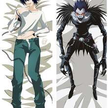 775ae6e9e0 Japan Anime Death Note L Lawliet Hugging Body Otaku Pillow Cover Case  Bedding Pillowcases(China