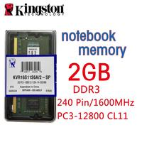 Kingston 2G DDR3L 1600MHz Low Voltage Notebook Memory PC3 12800 CL11 204 Pin SODIMM RAM