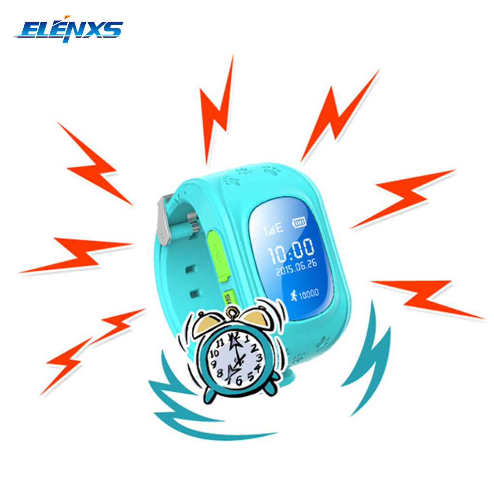 Q50 Children s Smart Watch with GPS Positioning SOS Call Function Locator Tracker Phone Watch for