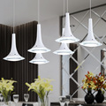 LED Acrílico Arte da Simplicidade LEVOU Lustre Quarto Sala de Jantar Lâmpada de Iluminação Para Casa 6