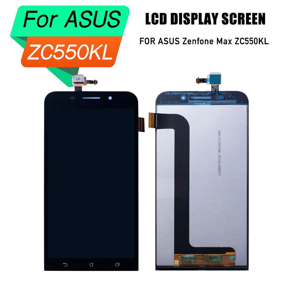 Écran lcd prépa pour ASUS Zenfone Max Zc550kl écran lcd numériseur assemblée pour ASUS Zenfone Max Zc55 écran lcd