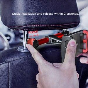 Image 3 - รถผู้ถือแท็บเล็ตสำหรับ IPad 2/3/4 Pro 7 11 ขาตั้ง Universal ด้านหลังที่นั่งรถ MOUNT MOUNT 360 หมุน