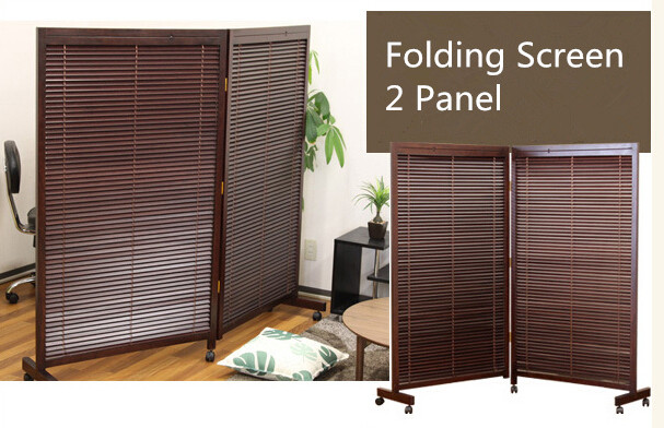 Wood Partition aliexpress : buy japanese movable wood partition wall 2 panel