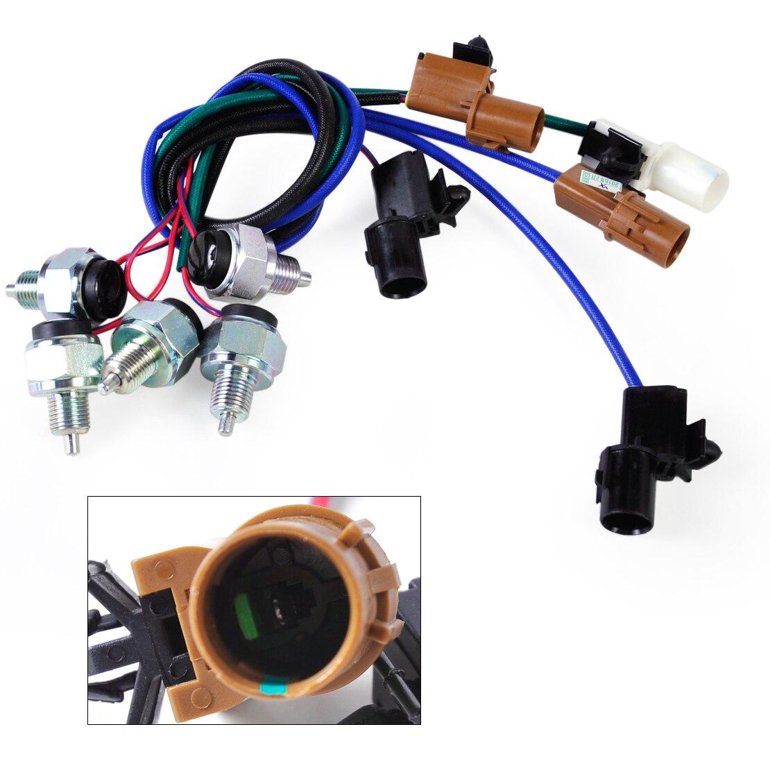 ФОТО One Kit 5pcsTransfer T F Case Switch MR580151 MR580152 MR580153 MR580154 MR580155 For Mitsubishi Montero Pajero 2003 2004 2005
