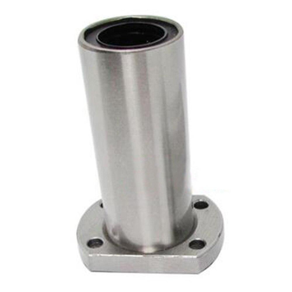 все цены на Free shipping 1PC LMH8LUU 8mm long type flange linear bearing CNC Linear Bush онлайн