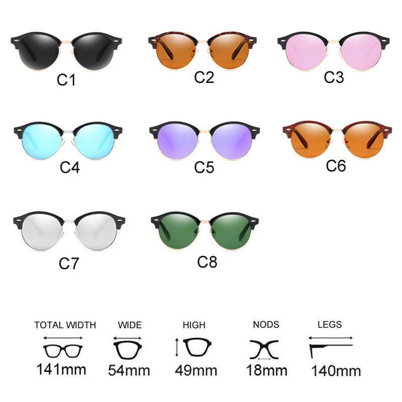 ce8abc32bf ... Gafas de sol de moda para hombre 2019 nuevas gafas de sol redondas de  lujo marca