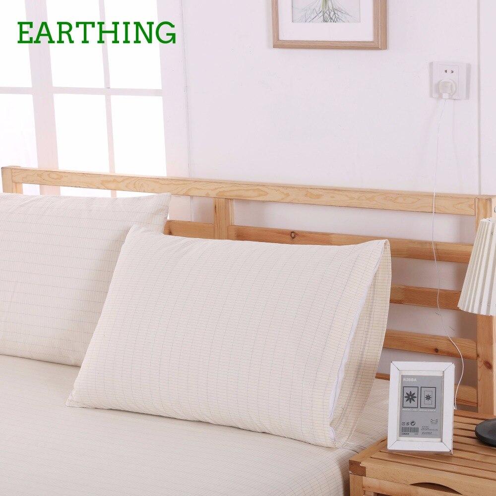 ᐅTierra almohada tierra (50*75 cm) 2 piezas cama anti-radicales ...