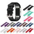 20mm Sports Silicone Gel Bracelet Watch Strap Band For Fitbit Charge 2 Watchbands Sporting Accessories Correa Reloj 13 Colors