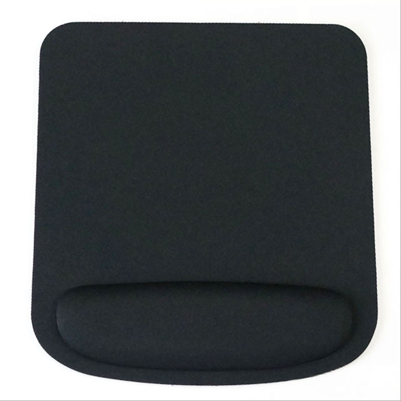 Hot Selling Optical Trackball PC Thicken Black Mouse Pad Support Wrist Comfort Mouse Pad Mat Mice