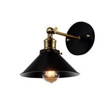 Американский винтажный настенный светильник для помещений, прикроватные светильники, Ретро Настенные светильники для чтения, спальни, дома, Бесплатная доставка (BG 70)