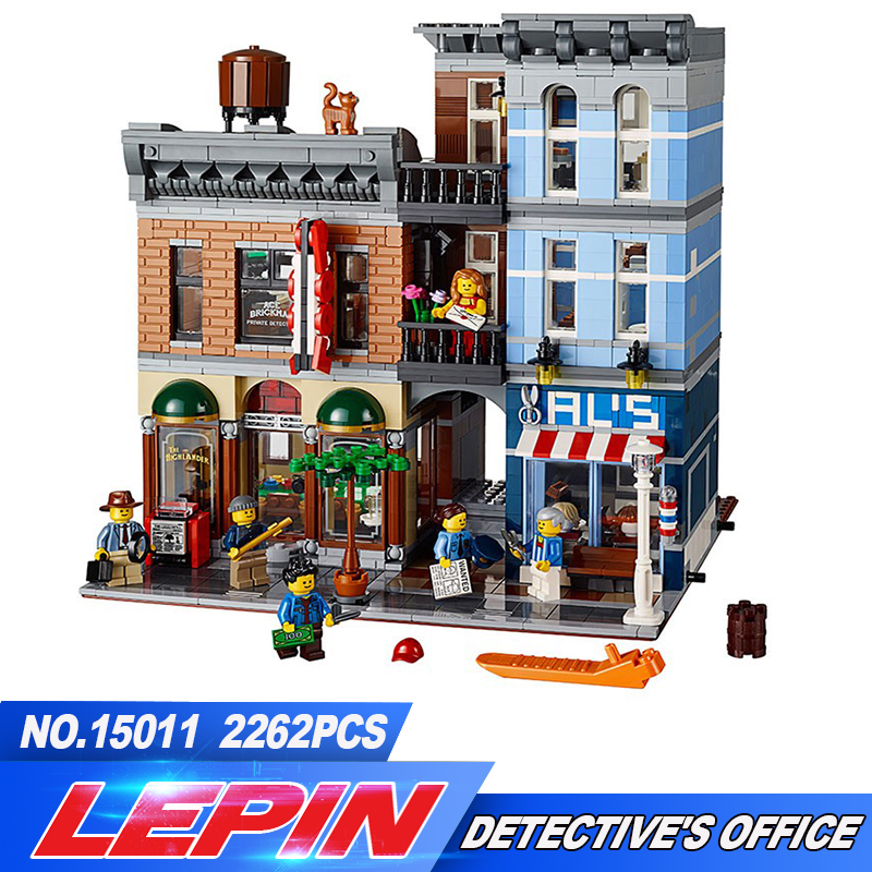 Lepin 15011 Creator Series The Detective's Office Set Avengers Set Assemble Building Blocks Toys 10197 lepin 15011 parsian creator expert city street resturant minifigure avengers set assemble building blocks toys compatible legeod