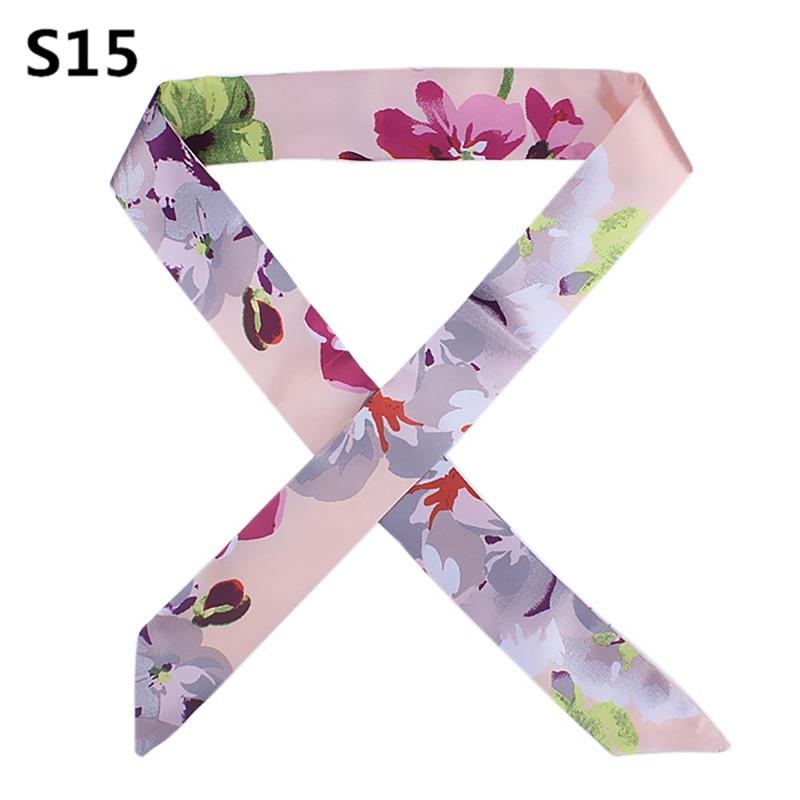 On Sale New Arrivals Bag Scarf Print Silk Scarf Women Small Bag Ribbon Fashion Female Hair Ribbons Fashion Handbag Scarves