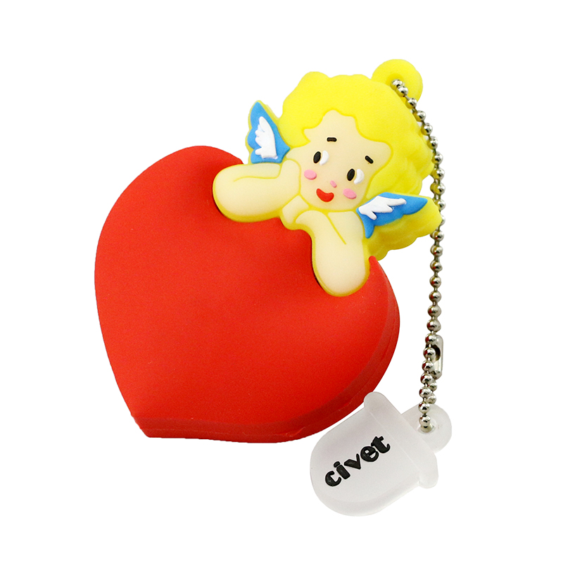 Best Gift 128 GB Pendrive 8 GB USB Flash Drive 16 GB Cartoon Cupido - Externe opslag - Foto 4