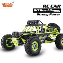 Global Drone RC Car Machine On The Radio High Speed 4WD Waterproof Charging For Cars On The Control panel(China)