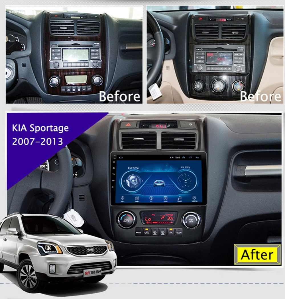 "9"" Super Slim Touch Screen Android 8.1 radio GPS Navigation for Kia Sportage 2007- HEAD UNIT tablets Stereo Multimedia Bluetooth"