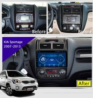 9 Super Slim Touch Screen Android 8.1 radio GPS Navigation for Kia Sportage 2007 HEAD UNIT tablets Stereo Multimedia Bluetooth