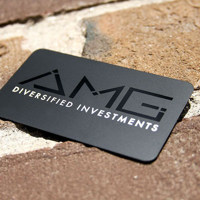 High end creative metal business card card personalized metal card high end creative metal business card card personalized metal card business card distinguished metal membership reheart Images