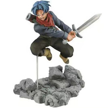 12-13 cm 3 tipos de la bola del dragón del Anime Z Super alma X alma hijo de Goku troncos negro Goku de PVC figuras modelo Juguetes