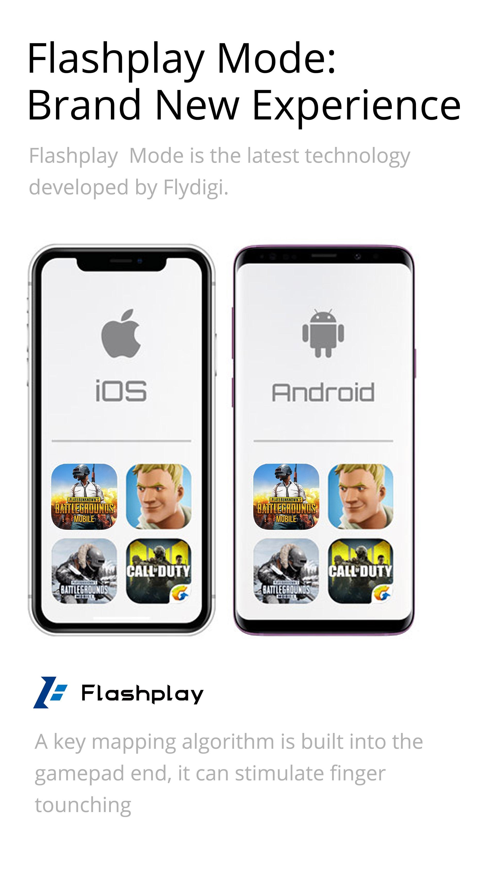 Flydigi Wasp 2 Elite One-Handed Mobile Gaming Controller 13