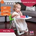 Apramo flippa ребенок обеденный стул многофункциональный портативный складной ребенок обеденный стул