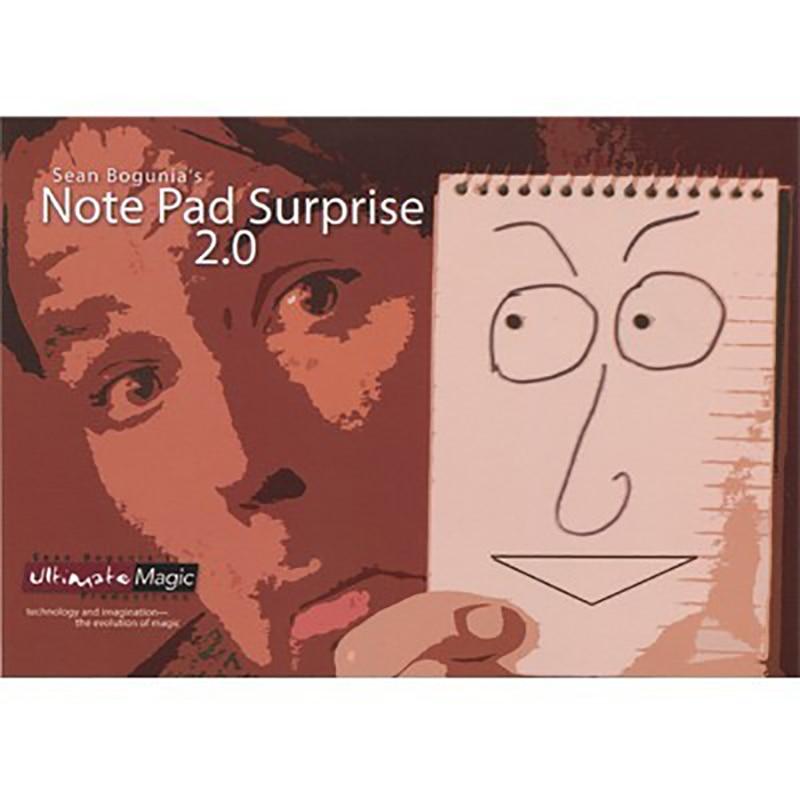 Livraison gratuite gros plan accessoires magiques bloc-notes Surprise 2.0 type de carnet animation assistant version 2