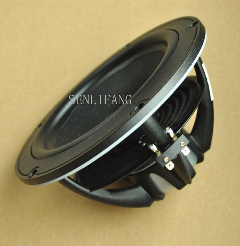 Free Shipping Denmark Original NE-180-08 6.5 Inch Bass Speaker Straw Cone Rubber Edge 180mm Diameter Pmax 150W 8 Ohm