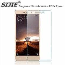 SIJIE Tempered Glass For XIAOMI REDMi 3 / Redmi 3S / Redmi 3X / Redmi 3 Pro 9H 2.26mm Screen Protector protective film аксессуар защитное стекло для xiaomi redmi 3 redmi 3 pro 3s 3x solomon 7552