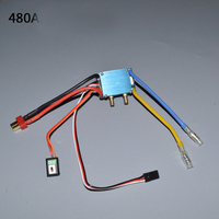 Integral Waterproof Water Cooling ESC For RC Boat Brushed Single Double Motor 320A 480A Electrical Speed