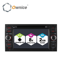 Ownice C500 안드로이드 6.0 옥타 코어 8 코어 2 Din 2 그램 RAM 자동차 DVD 플레이어 초점 갤럭시 축제 S 최대 C 최대 퓨전 환승 구가 4 그램 LTE