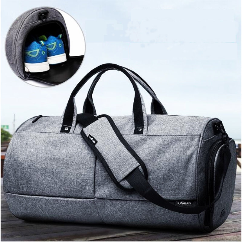 50L Men Women Nylon Gym Bag Large Capacity Luggage Bag Euramerican Style Sport Bag For Women Fitness Outdoor Training Handbag