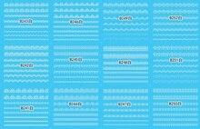 12 Estilos/Hoja de Belleza de La Moda de Diseño de Encaje Blanco Nail Wraps Etiqueta Engomada Del Clavo de Transferencia de Agua Tatuaje Temporal Arte De Punta DIY WY426
