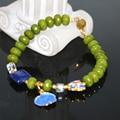 Natural stone jade jasper 5*8mm rondelle abacus beads bracelet & bangle for women lapis lazuli cloisonne jewelry 7.5inch B2942