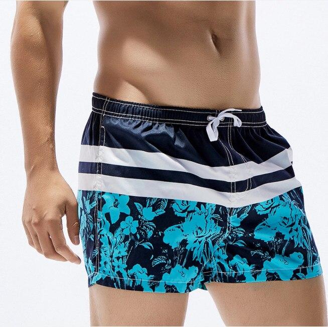 Marca de moda Hombres Tablero Pantalones cortos Hombres Playa traje - Ropa de hombre - foto 2