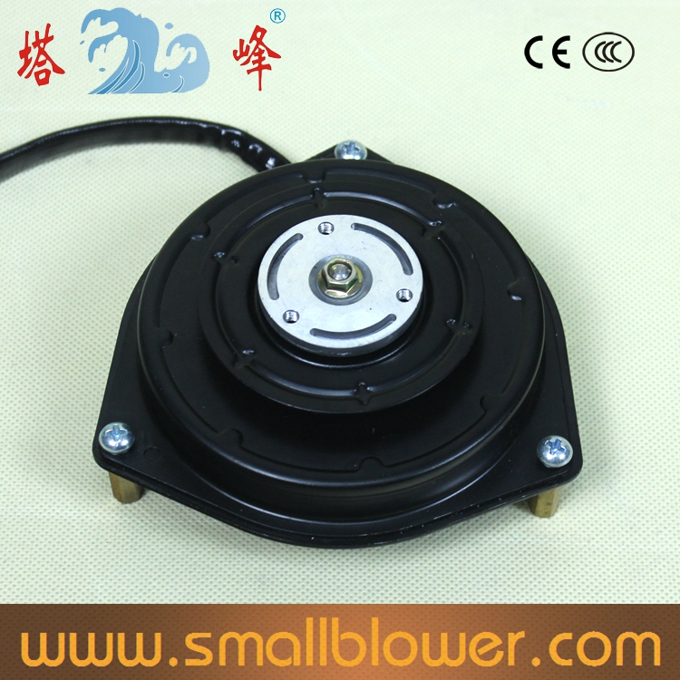 ФОТО Electronic automotive air-conditioning small DC 80w disc type electric machine motor 12v