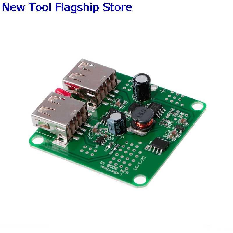 5V 2A +9V DC Solar Panel Power Bank USB Charge Voltage Controller Regulator