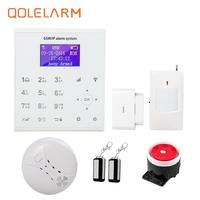 QOLELARM U8 wireless zone di controllo app con touch screen modificabile quattro lingue commutabile home security sistema di allarme