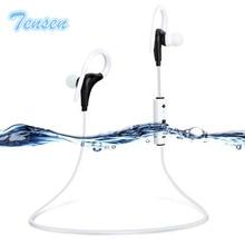 Deportes Correr Auriculares In-Ear Stereo Headset Auriculares Inalámbricos Bluetooth Impermeable Gancho Para la Oreja Del Auricular Con Micrófono Para Todos Los Teléfonos
