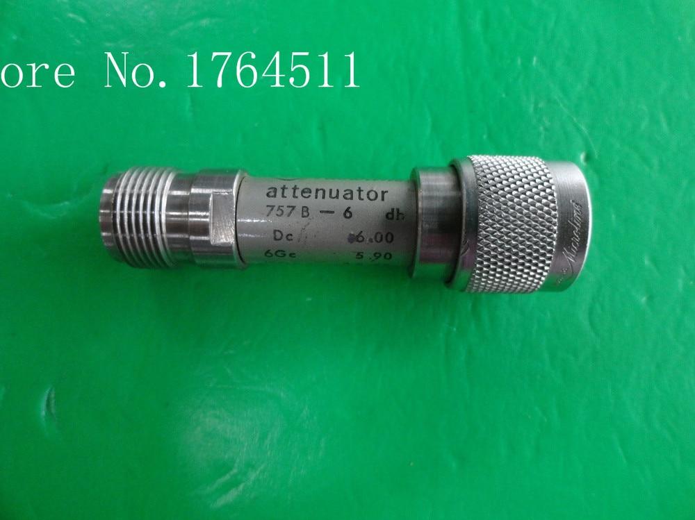 [BELLA] NARDA 757B-6 DC-12.4GHz 6dB 2W N Coaxial Fixed Attenuator