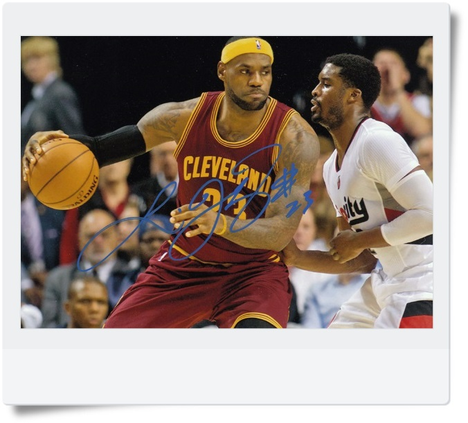 signed  LeBron James autographed photo 7 inches famous sports star freeshipping 082017 signed mayday ashin autographed original photo 7 inches freeshipping 082017
