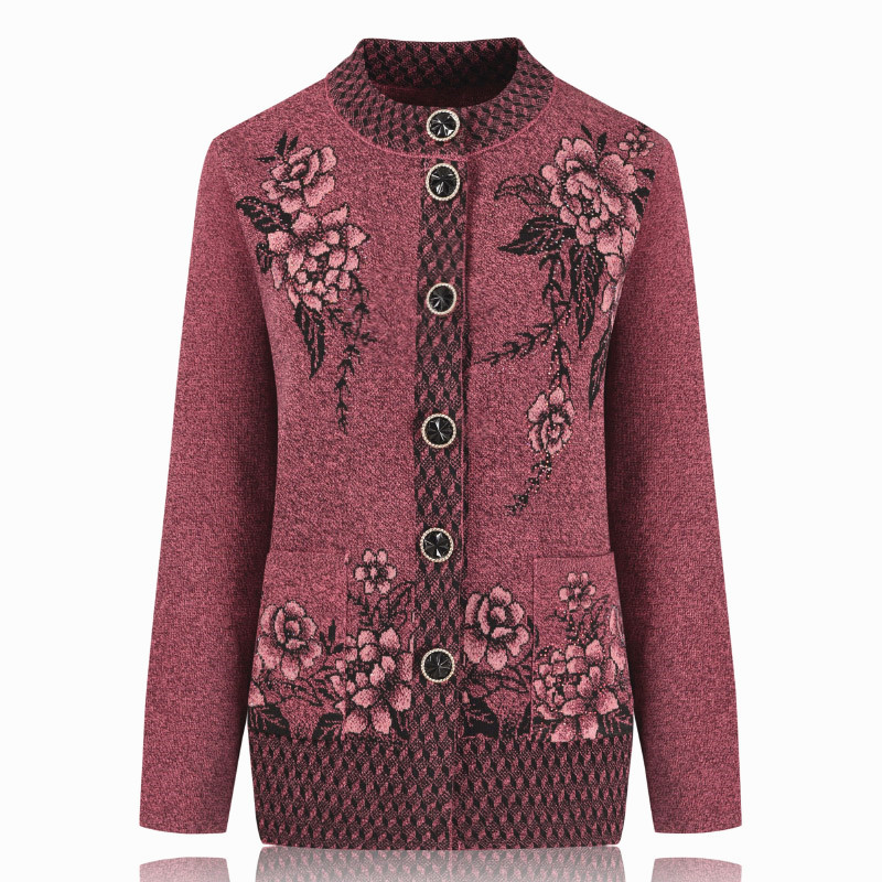 New sweaters women winter 2019 cardigan casual sweater women coat loose spring autumn winter pink clothes