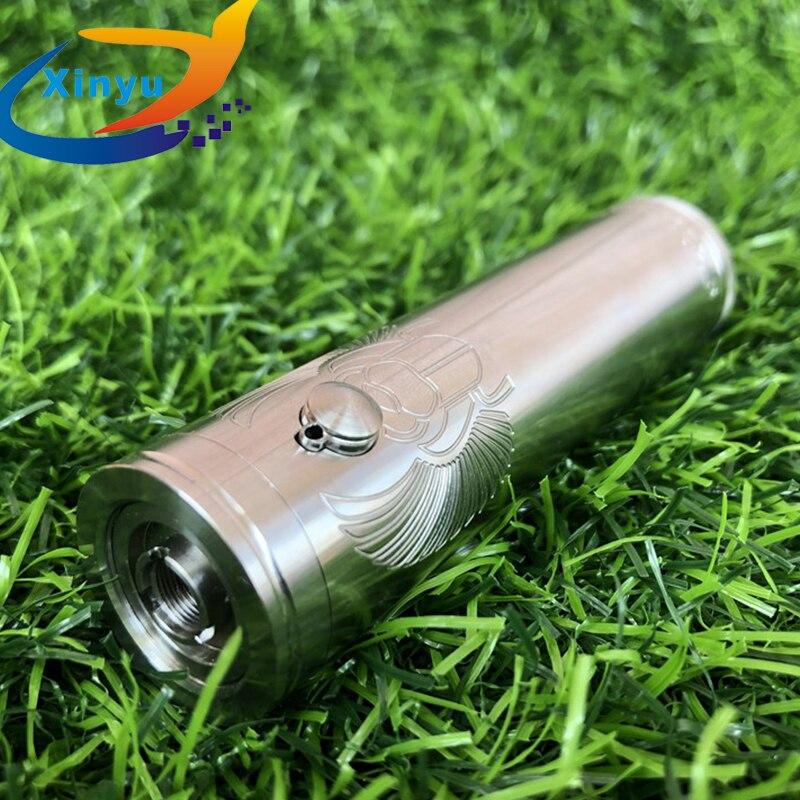 ShenRay Taifun skarabaus pro mech mod 21700 batterie en laiton vape 316 ss 25mm vaporisateur Vape fit Taifun GT IV RTA KAYFUN LITE RTA - 4