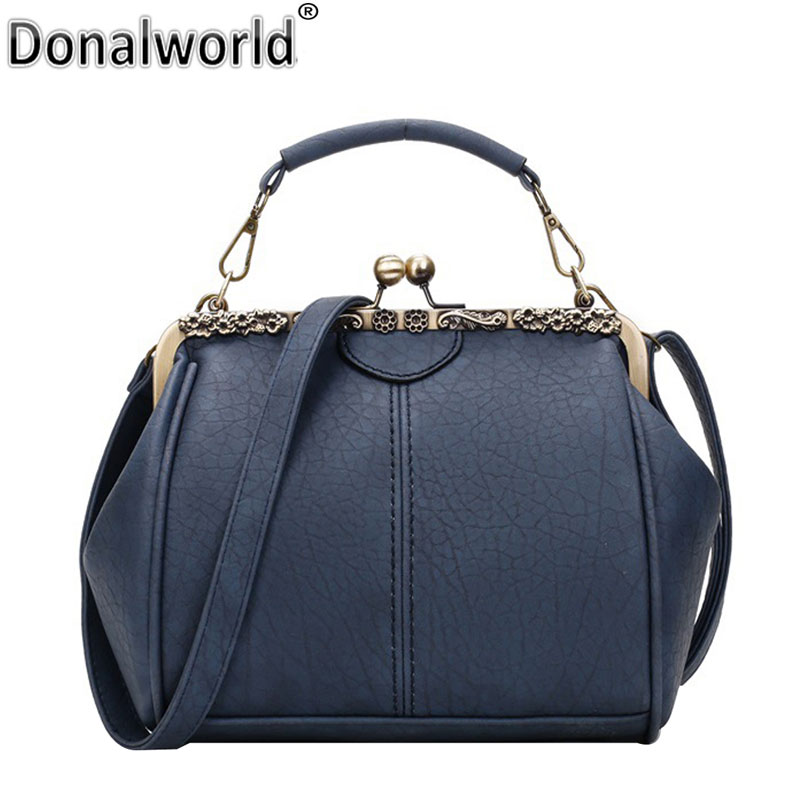 Donalworld New Retro Women Messenger bags Small Crossbody Shoulder bag Female Fashion Pu Leather Small Clutch Tote bag Handbags fashion women pu leather bag high quality mini handbags lady messenger bags chain shoulder crossbody bag for female small clutch page 1