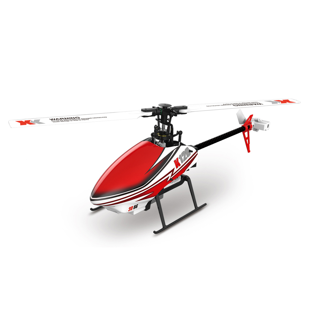 XK K120 6CH Flybarless Single Blade Helicopter RTF RC font b Drone b font Compatible With
