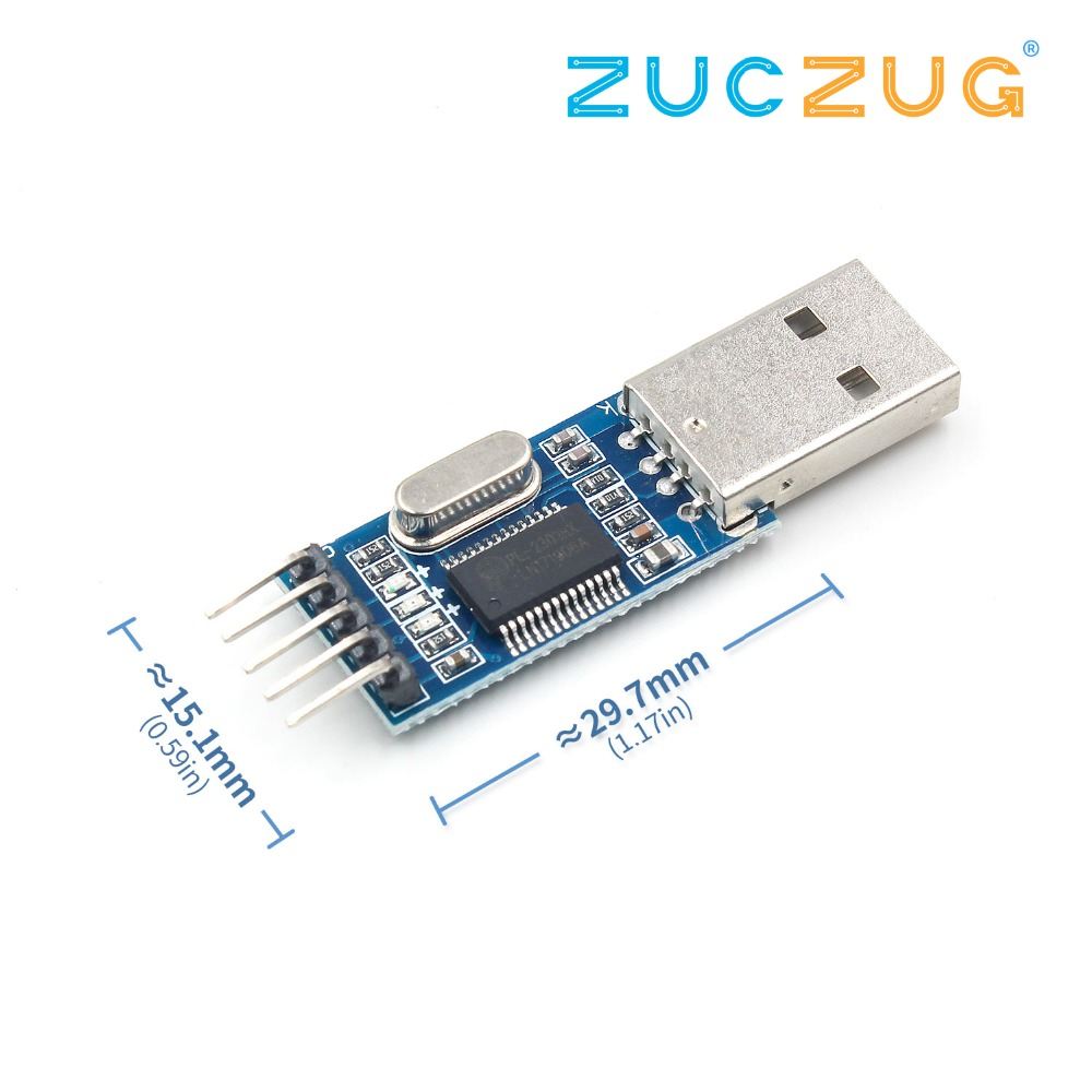 PL2303 USB To RS232 TTL Converter Adapter ModulePL2303 USB To RS232 TTL Converter Adapter Module
