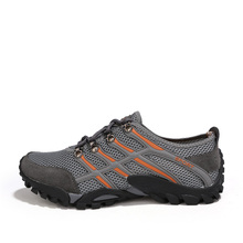 Men Hiking Boots 2017 Hot Sale Waterproof Uneebtex Hiking Shoes Genuine Leather Outdoor Sneakers for Men Climbing footwear males